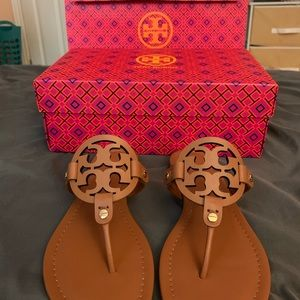 Tory Burch Miller Sandals *NWT & AUTHENTIC*